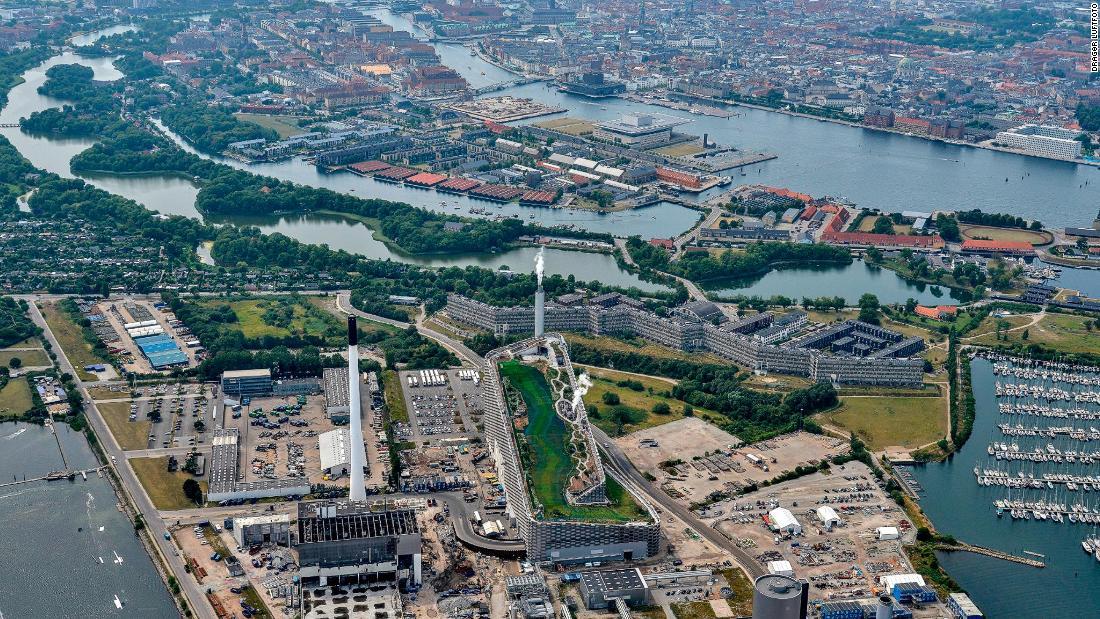Planta de generación de energía en Copenhague