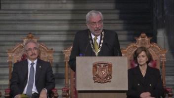 Enrique Graue, rector de la UNAM por segundo periodo