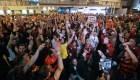 Copa Libertadores: la despedida multitudinaria de Flamengo en Río de Janeiro