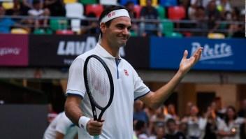 La exhibición de Federer en Argentina