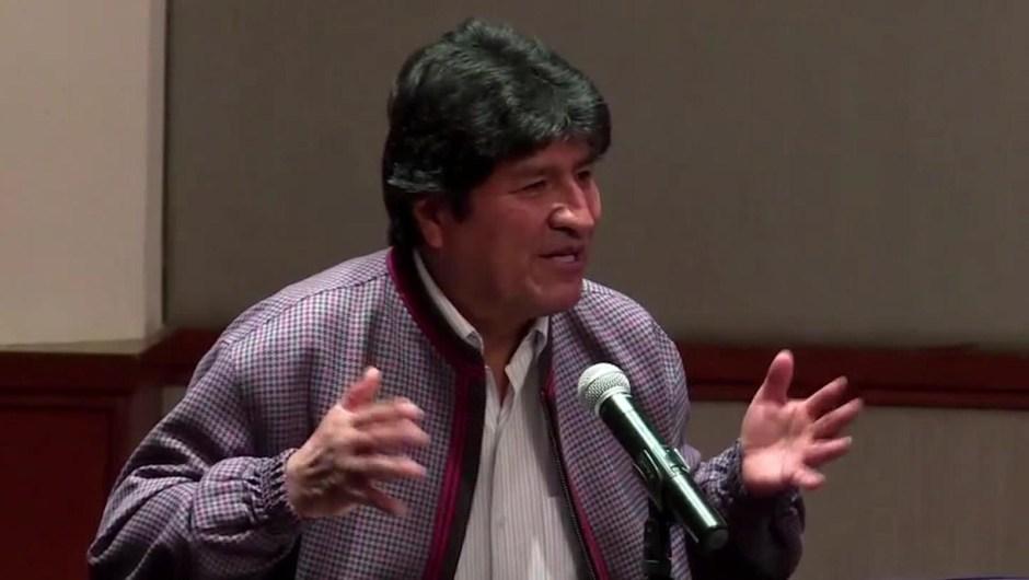 """Expresidente Evo Morales propone """"Comisión de la Verdad"""""""