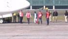 Llega el primer migrante hondureño a Guatemala