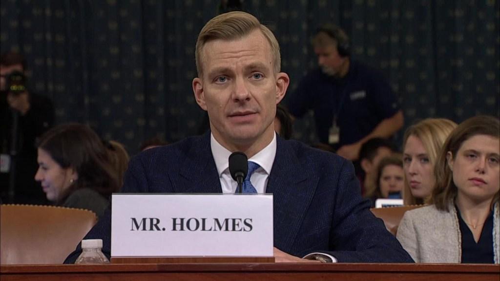 Nueva audiencia: los testimonios de Hill y de Holmes