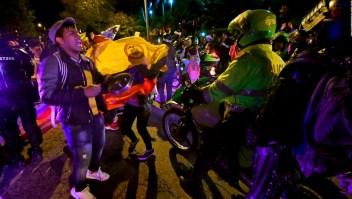 Reportan incidentes en Bogotá pese a toque de queda