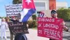 Denuncian supuesto abuso en Cuba a disidente Ferrer