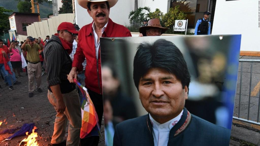 Los hijos de Evo Morales llegan a Argentina