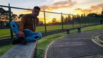 Amigos despiden y recuerdan al joven Dilan Cruz