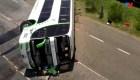 Accidente de bus deja dos muertos en Argentina