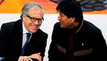 ¿Volvería Luis Almagro a visitar a Evo Morales?