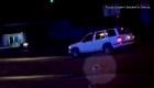 Tulsa: Un policía rescata a niña que cayó de un auto en movimiento