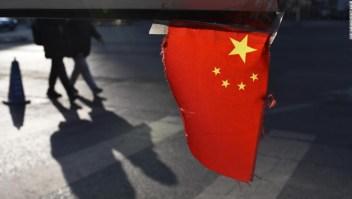 Ataque químico niños China