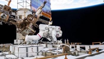 Astronauta votó desde el espacio