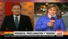 Denuncian intento de atentado contra la presidenta interina de Bolivi