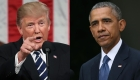 Trump y Obama, los hombres más admirados del año
