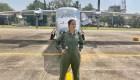 La Armada de la India da la bienvenida a su primera mujer piloto