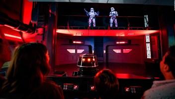 Así se ve la nueva atracción del parque temático de Star Wars