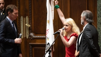 Tiene 19 años y ya es legisladora en Buenos Aires