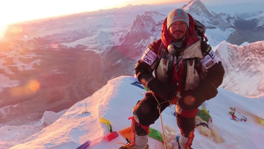 Récord: Conquistó las cumbres más altas en menos de 7 meses