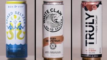 Marcas como White Claw están presionando a la industria cervecera