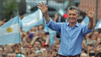 Concentración en Argentina para despedir a Macri del poder