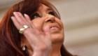 El momento en el Cristina F. de Kirchner asume la vicepresidencia