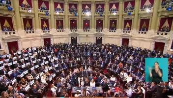 ¿Cómo se divide el poder en el nuevo Congreso argentino?