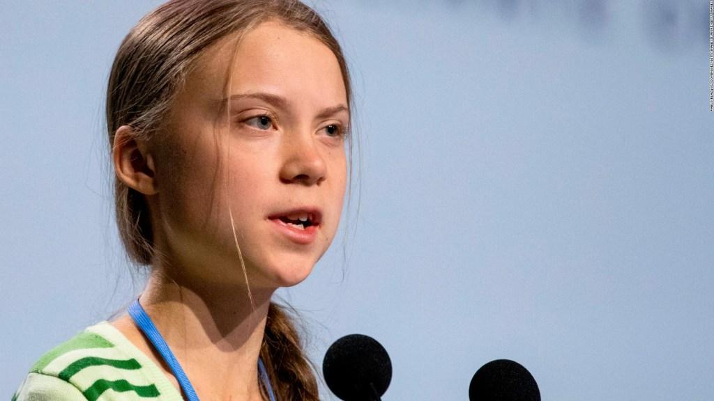 Las duras críticas de Greta Thumberg