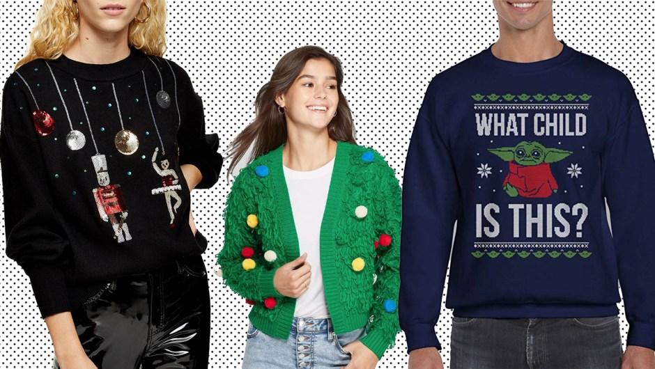 20 suéteres muy feos para navidad