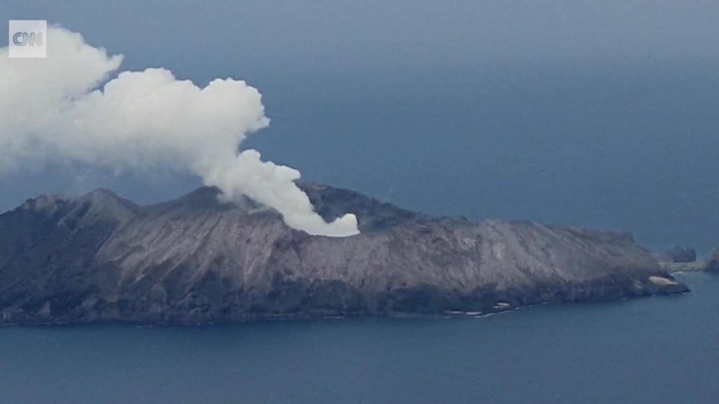 Relatan cómo fue la erupción de volcán en Nueva Zelandia