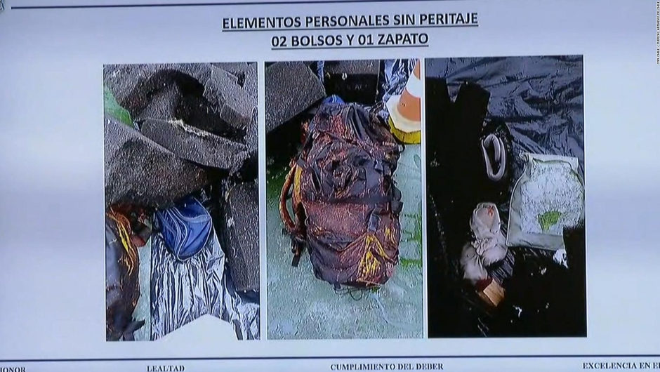 Encuentran restos humanos en avión siniestrado