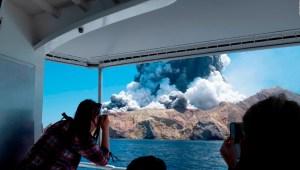 Esto es lo que sabemos de la erupción volcánica en Nueva Zelandia