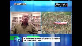 Diputado Hirsch culpa a Piñera de los abusos en las protestas