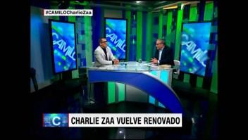 Charlie Zaa relata cómo empezó a cantar