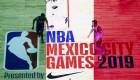 Cifras y curiosidades de los NBA Mexico City Games 2019