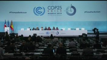 Descontento con resultados de COP25