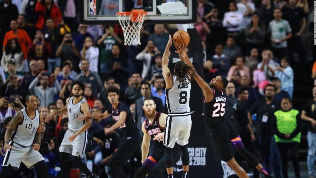 Así se despidió la NBA de México