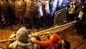Continúan las violentas protestas en Beirut
