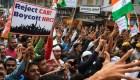 Manifestaciones no cesan en India