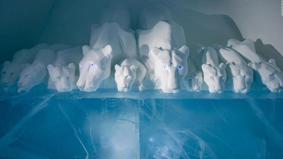 Famoso hotel de hielo en Suecia celebra 30 años
