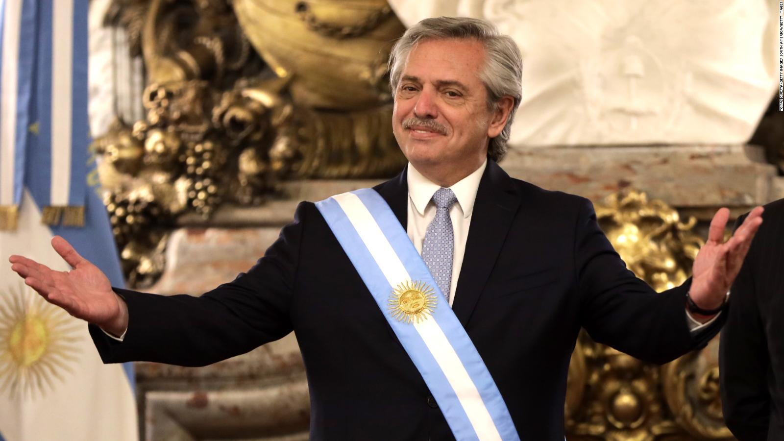 Primera semana de gobierno de Alberto Fernández