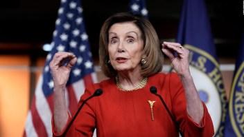 Pelosi no tiene prisa por el juicio político contra Trump