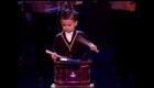 Con 3 años sorprendió al mundo con su tambor