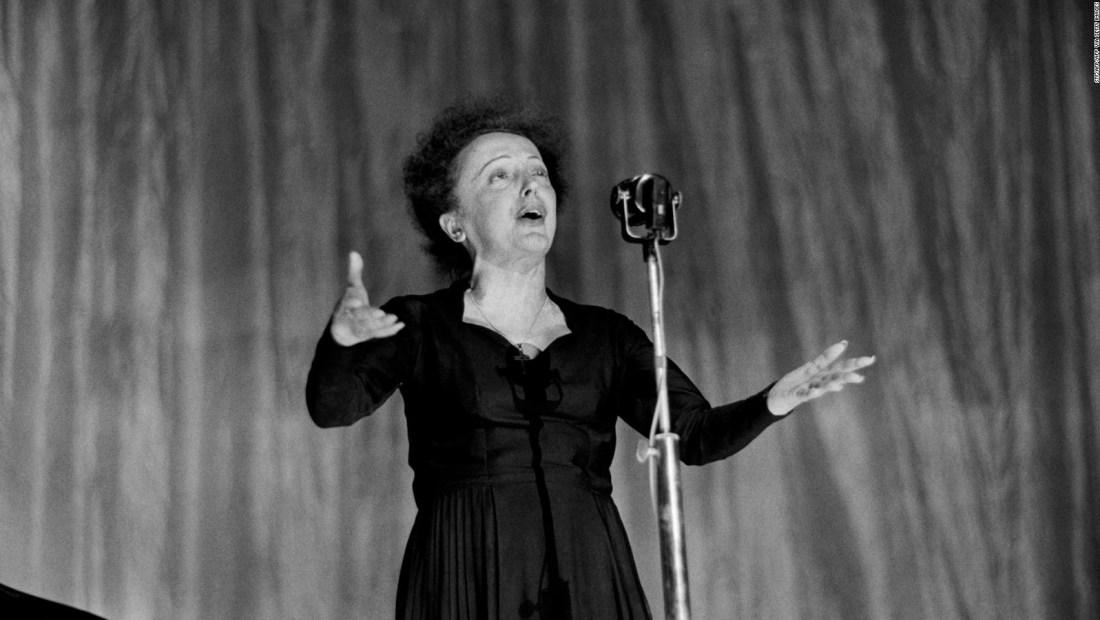 104 años del nacimiento de Edith Piaf