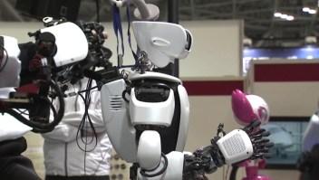 Este robot puede ayudar a cuidar personas ancianas