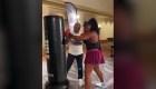 ¿Qué hacía Serena Williams entrenando con Mike Tyson?