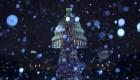 ¿Se cubrirá de nieve EE.UU. por Navidad?