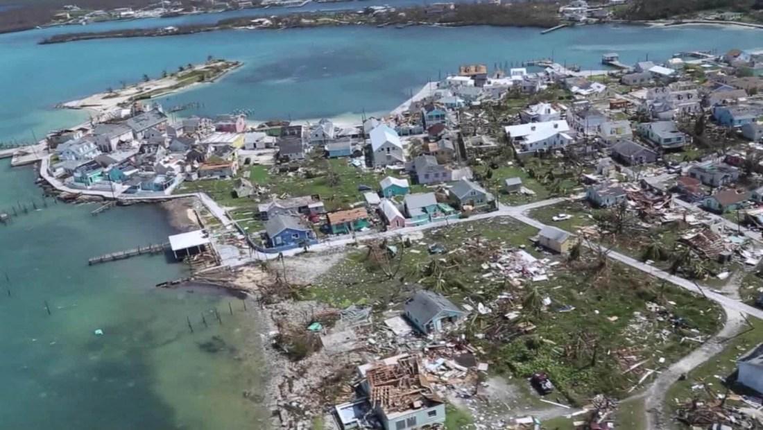 El paso del huracán Dorian por Bahamas este 2019