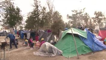 Brutal frío amenaza vidas de migrantes en Ciudad Juárez