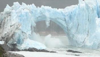 Mira las espectaculares rupturas del glaciar Perito Moreno
