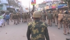 Violentas manifestaciones en India
